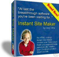 Product picture Instant Site Maker.zip