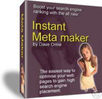 Product picture Instant Meta Tag Maker.zip