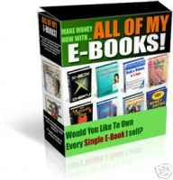 Product picture EVERY EBOOK I SELL.zip